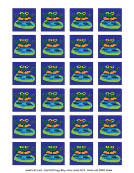 Froggy Boy Stickers!