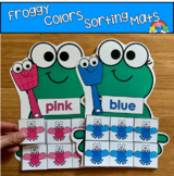 Froggy Color Sorting Mats