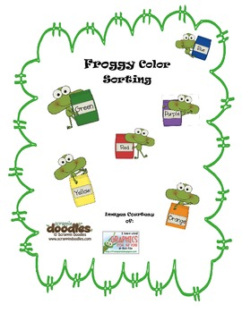 Froggy Color Sorting
