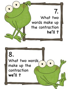 Froggy Contractions Scoot
