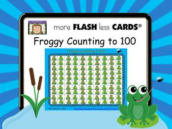 Froggy Counting to 100 - more FLASH less CARDS