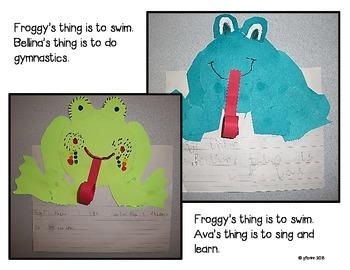 Froggy Craftivity Freebie