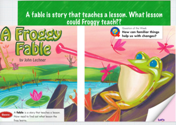 Froggy Fable Keynote