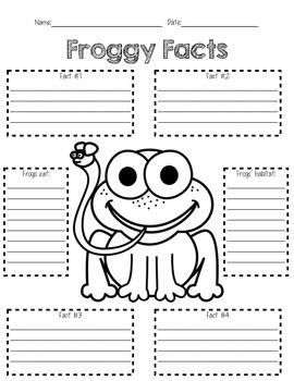 Froggy Facts
