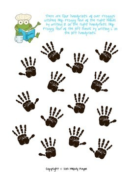 Froggy Fingers: Finger Numbers & Hands Worksheets for Elementary Music Students