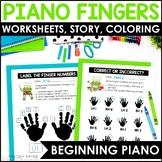 Froggy Fingers: Finger Numbers & Hands Worksheets for Elem