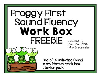 Froggy First Sound Fluency
