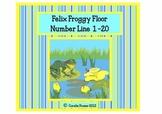 Froggy Floor Number Line 1-20