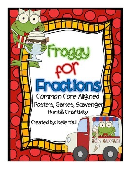 Froggy For Fractions- Fraction Games and Activities