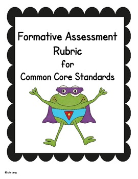 Froggy Formative Assessment Charts
