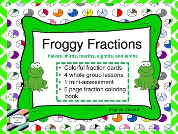 Fractions--activities and coloring booklet