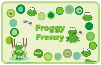 Frog Gameboard - Froggy Frenzy