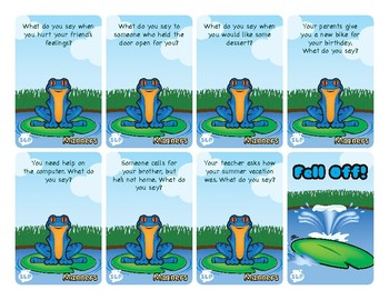 Froggy Friends Social Skills Game