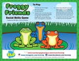 Social Skills Game/Activity- Frog Themed