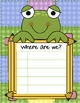 """Froggy Frog """"Where are we?"""" Sign"""