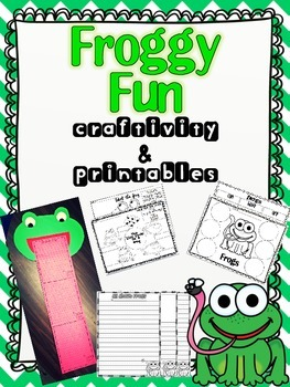 Froggy Fun (frog craft and printables)