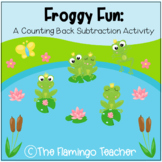 Froggy Fun: A Counting Back Subtraction Activity (First Gr