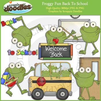 Froggy Fun Back To School