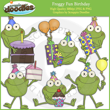 Froggy Fun Birthday