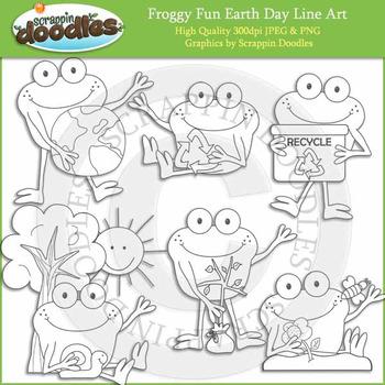 Froggy Fun Earth Day