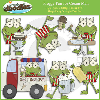 Froggy Fun Ice Cream Man