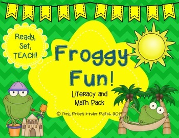 Froggy Fun: Literacy and Math Pack