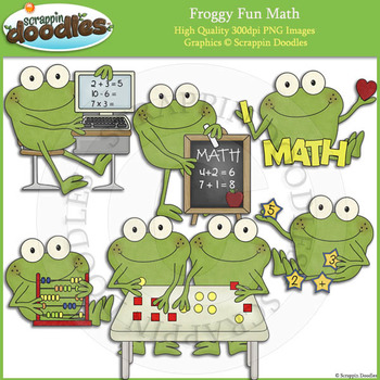 Froggy Fun Math