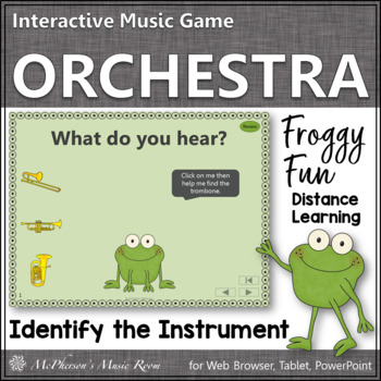 Froggy Fun! Name the Orchestra Instruments (Interactive Mu