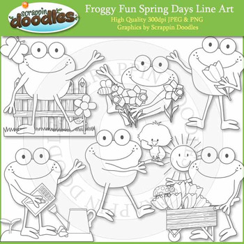 Froggy Fun Spring Days
