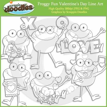 Froggy Fun Valentine's Day