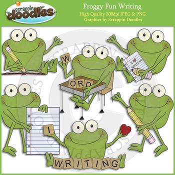 Froggy Fun Writing