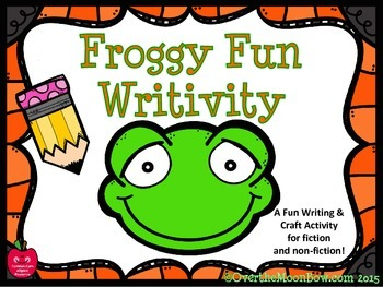 Froggy Fun Writivity Pack - Themed Writing Activity