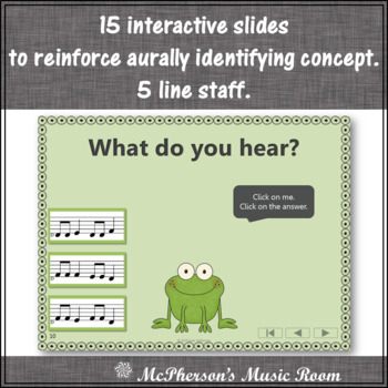 Solfa Do Re Mi Interactive Melody Game {Music Game Froggy Fun}