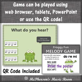 Solfa Do Re Mi Interactive Melody Game {Music Game Froggy Fun}