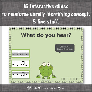 Sol Mi Music Game ~ Interactive Melody Game {Froggy Fun}