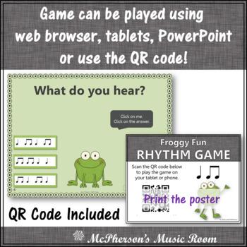 Froggy Fun with Rhythm - Interactive Music Game {ta titi}