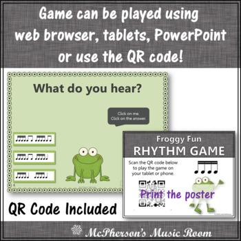 Froggy Fun with Rhythm - Interactive Music Game {tiri-tiri}