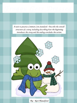 Froggy Gets Dressed Beginning, Middle, and End Activity