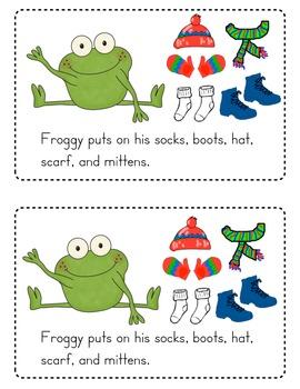 Froggy Gets Dressed Emergent Reader