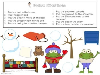 Froggy Gets Dressed: File Folder Language Activities