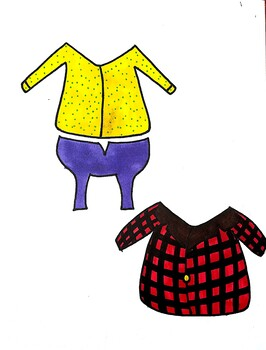 Froggy Gets Dressed- Interactive Dress Up Paper Doll