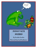 Froggy Gets Dressed winter snow reading printables
