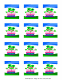 Froggy Girl stickers
