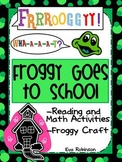 Froggy Goes To School-  Back to School Fun with Froggy!