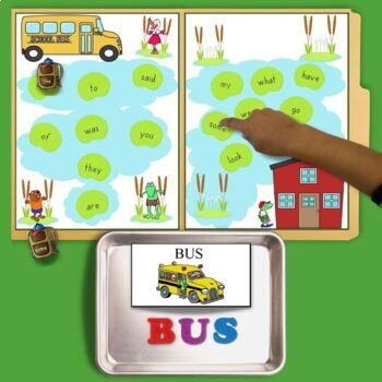 Froggy Goes To School Literacy and Math Center Activities