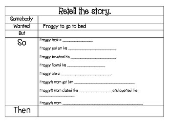Froggy Goes to Bed - Guided Reading for Growing Readers