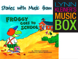 Froggy Goes to School: Stories with Music