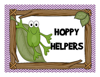 Froggy Helpers Chart