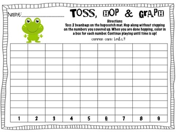 Froggy HopScotch Math