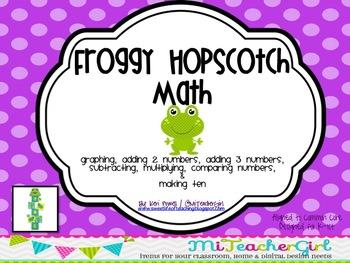 Froggy HopScotch Math
